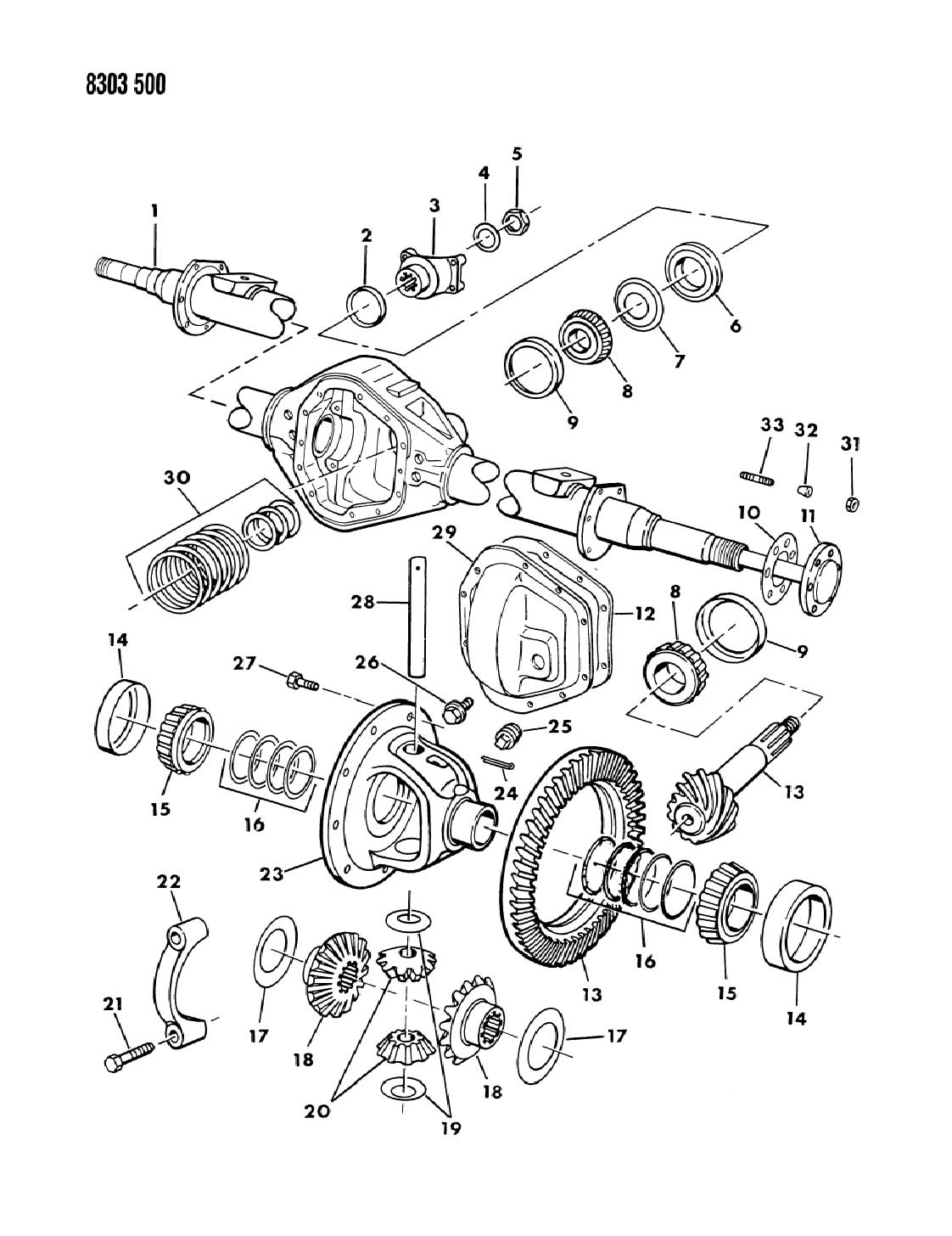Jeep Wrangler Plug Differential Cover