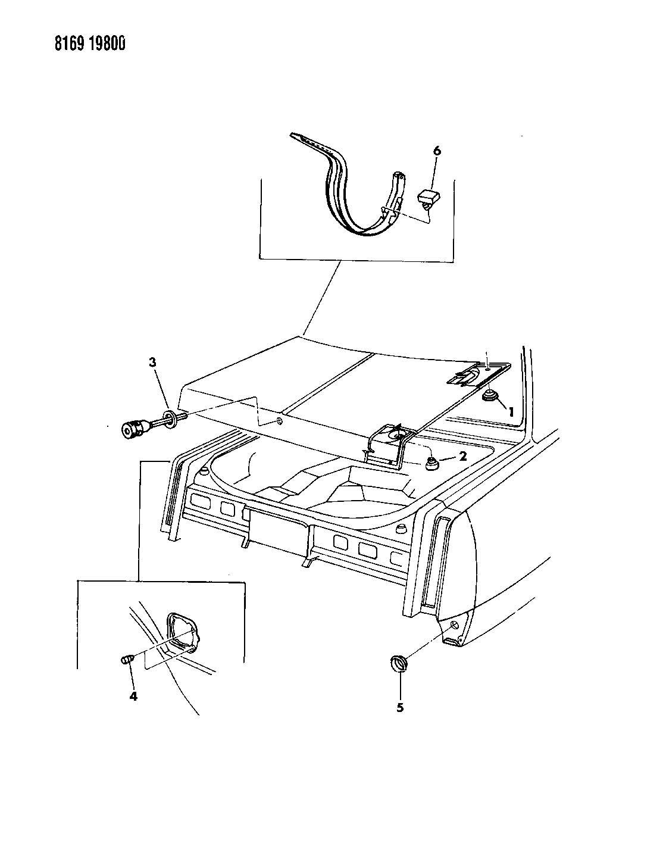 Dodge Dakota Plug Body Side Wax Miscelaneous