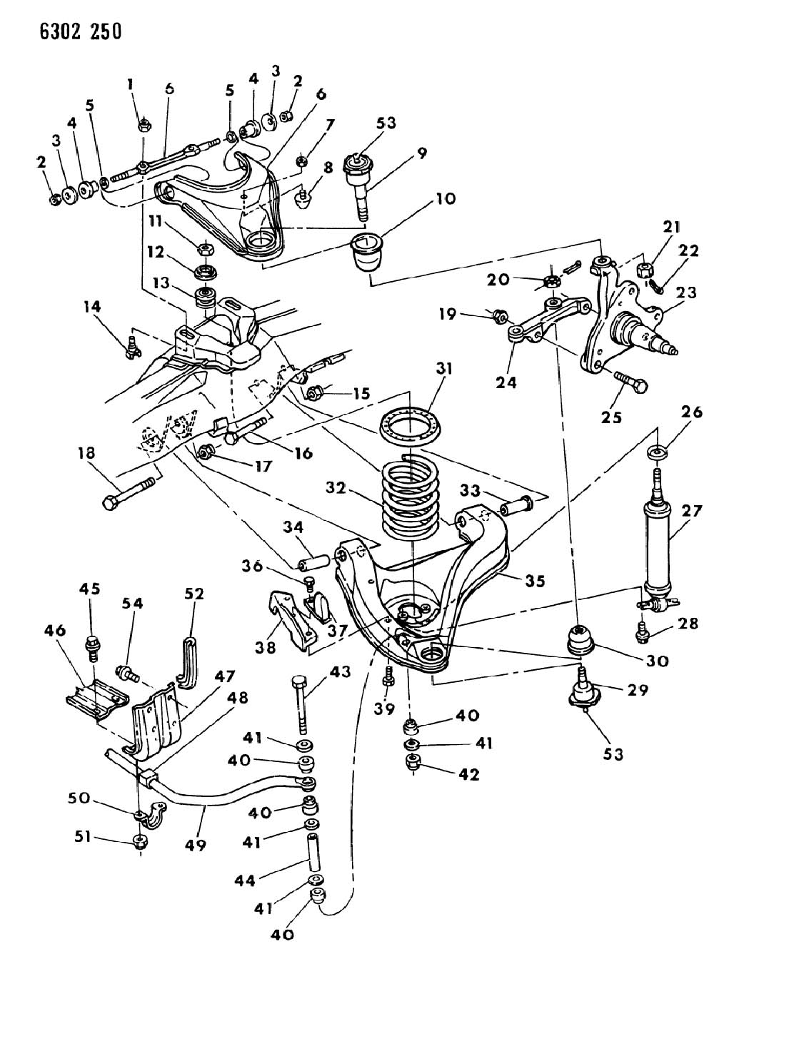 1999 Chrysler Lhs Suspension Diagrams