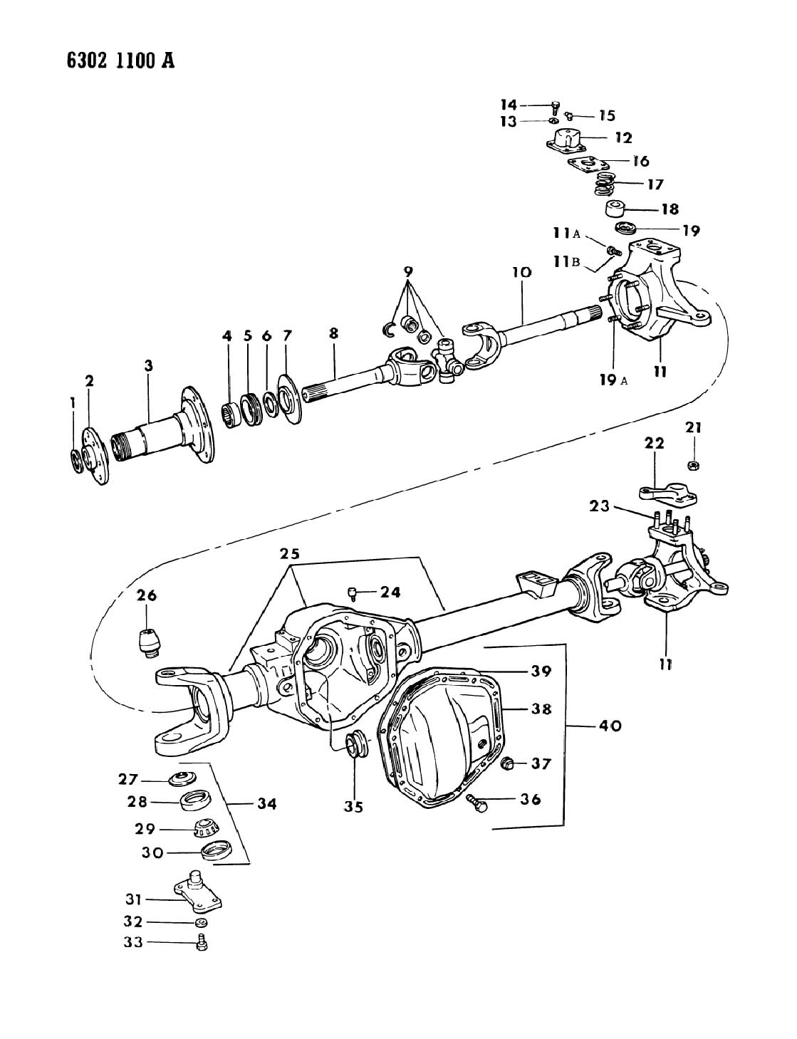 Dodge Dana 60 Front Axle Parts Diagram Dodge Free Engine