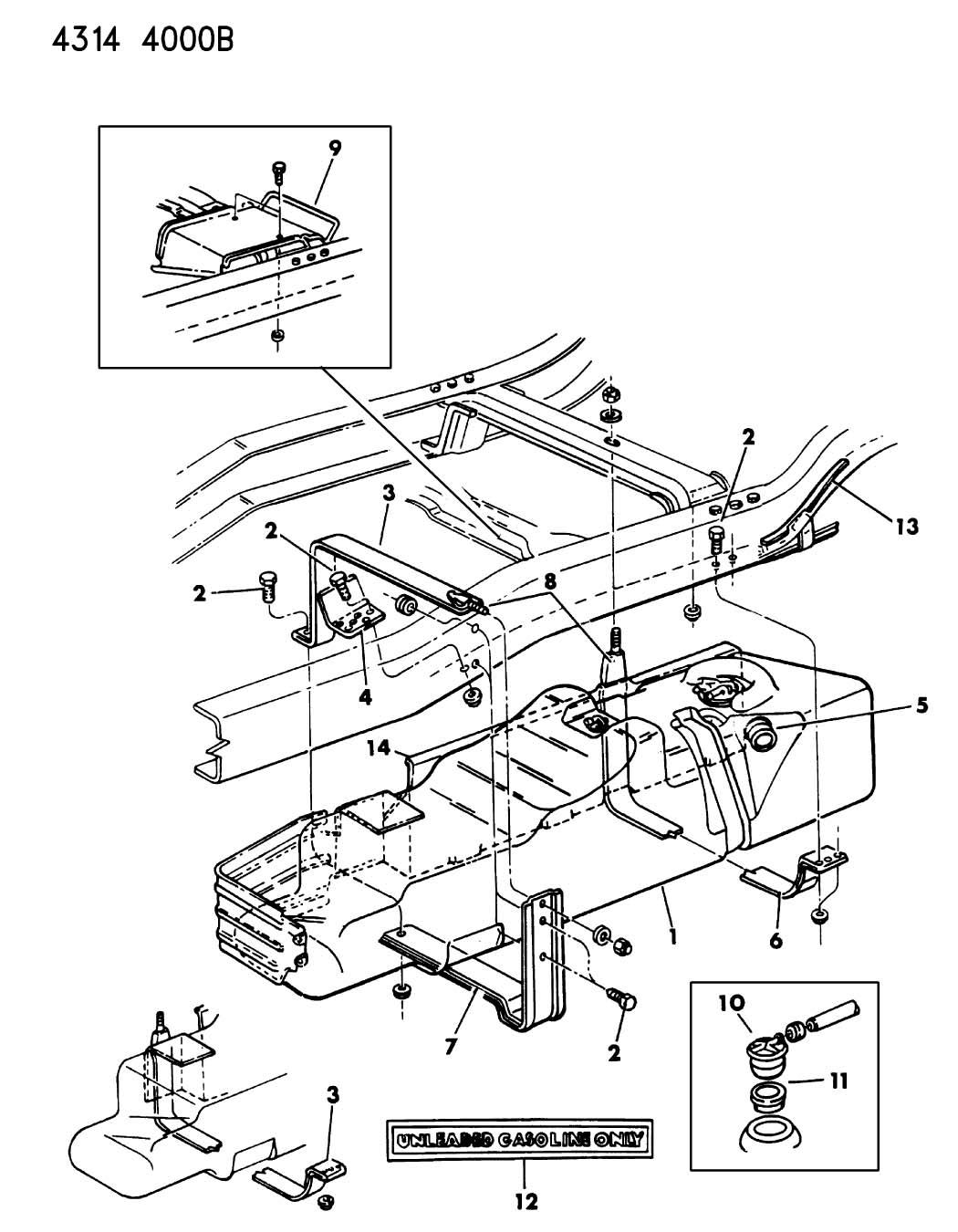Dodge Ram Grommet Rollover Valve Nfr Regul