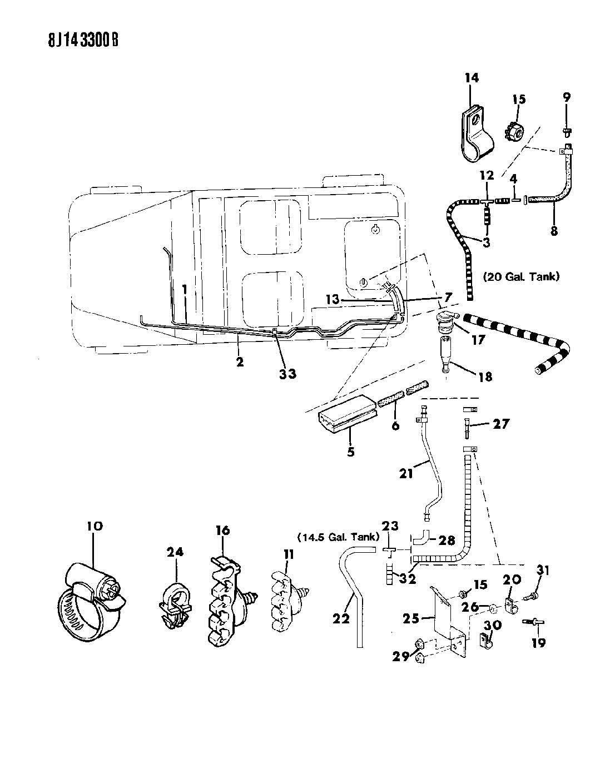Jeep Wrangler Valve Fuel Tank Rollover Safety Nrm