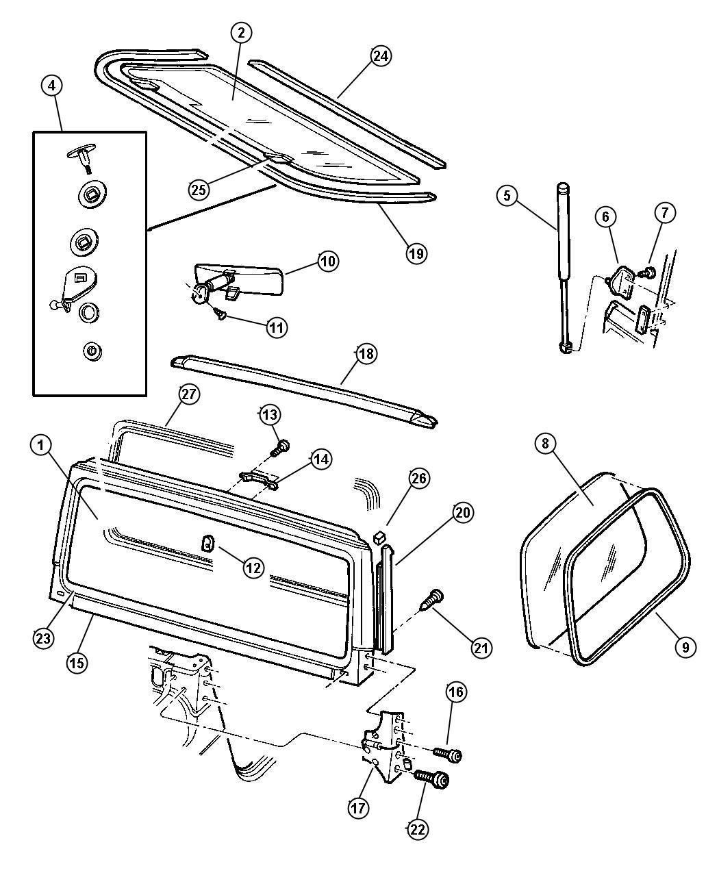 Jeep Wrangler Frame Parts