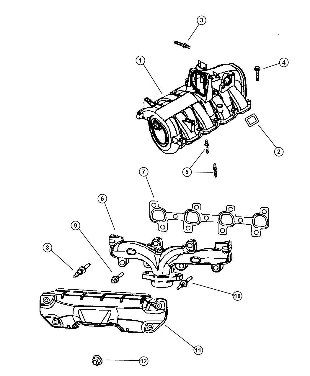 Jeep Grand Cherokee Laredo Manifold Intake And Exhaust