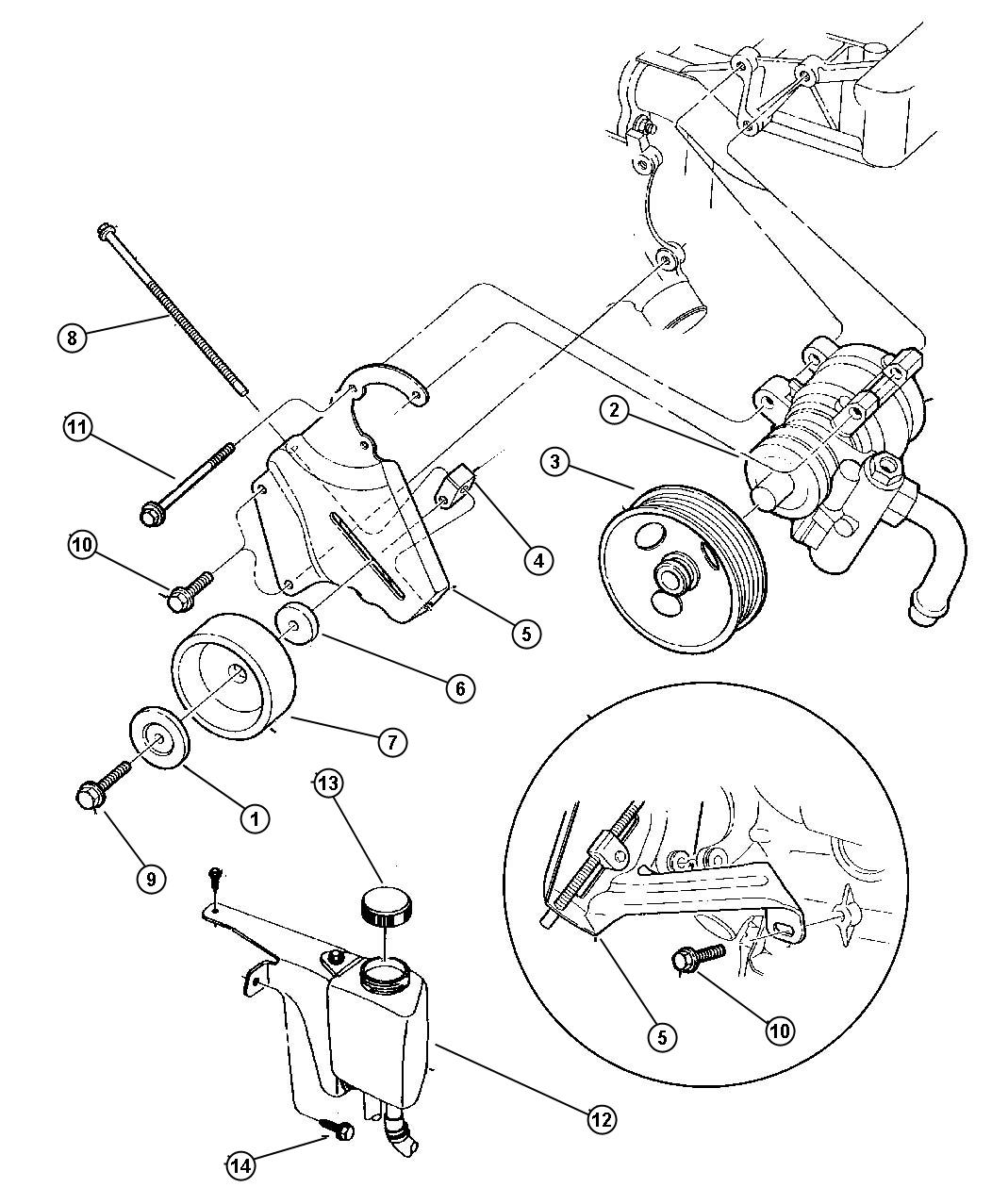 Jeep Wrangler Bolt Adjusting Bracket