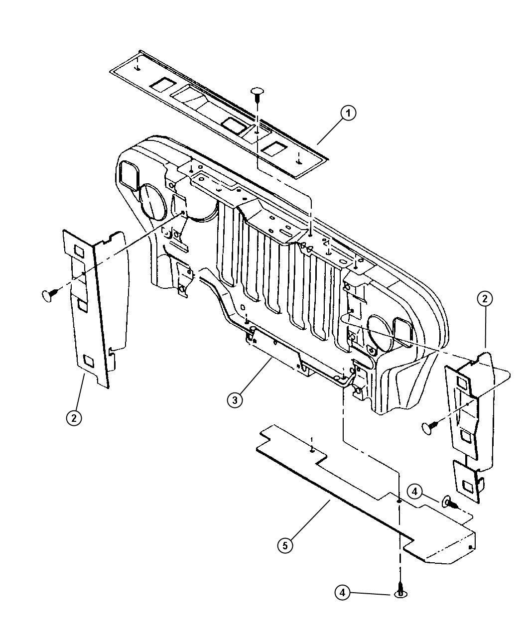 Jeep Wrangler Seals A C Condenser