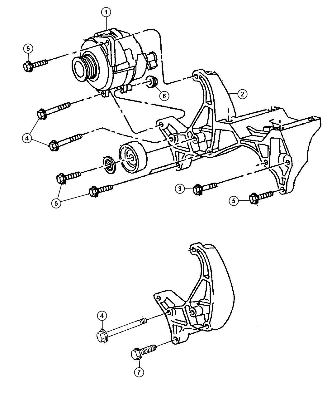 Jeep Cherokee Screw Used For Bolt And Washer Used For