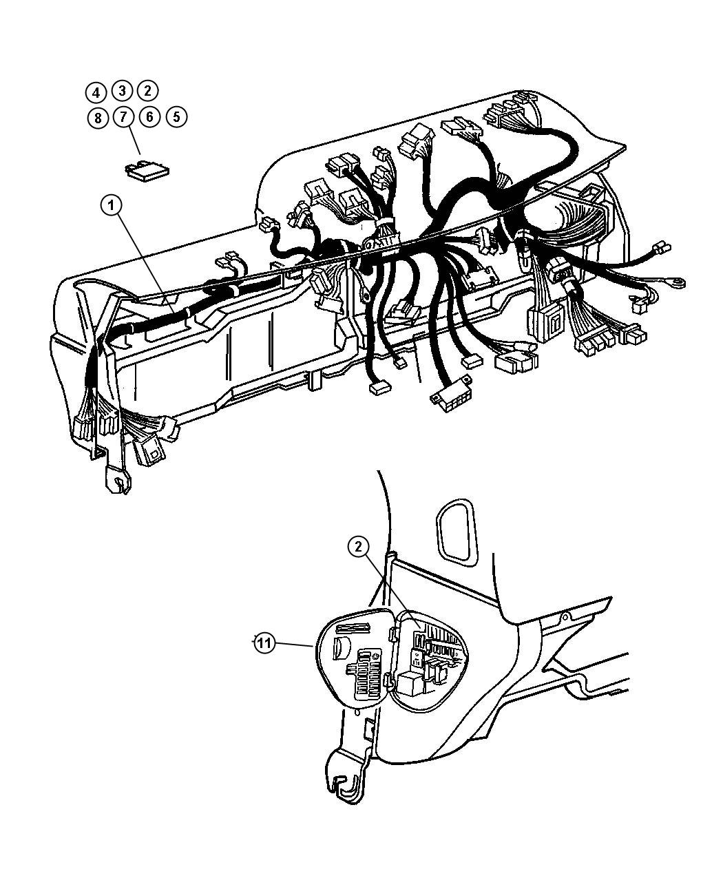 Chrysler Pt Cruiser Flasher Turn Signal Hazard Flasher