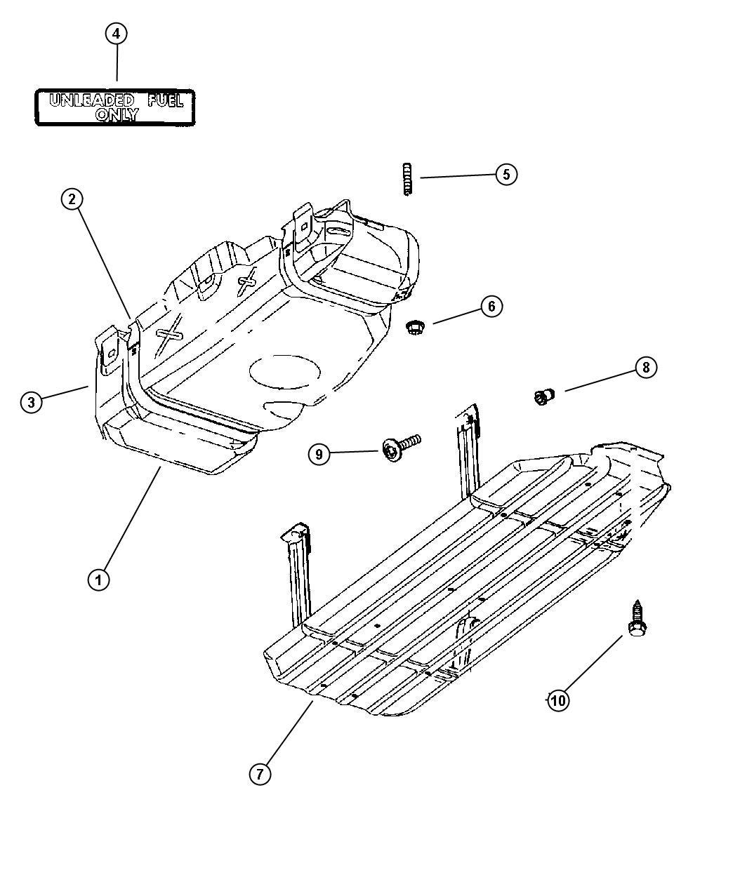 Service Manual Remove Fuel Tank On A Dodge Durango