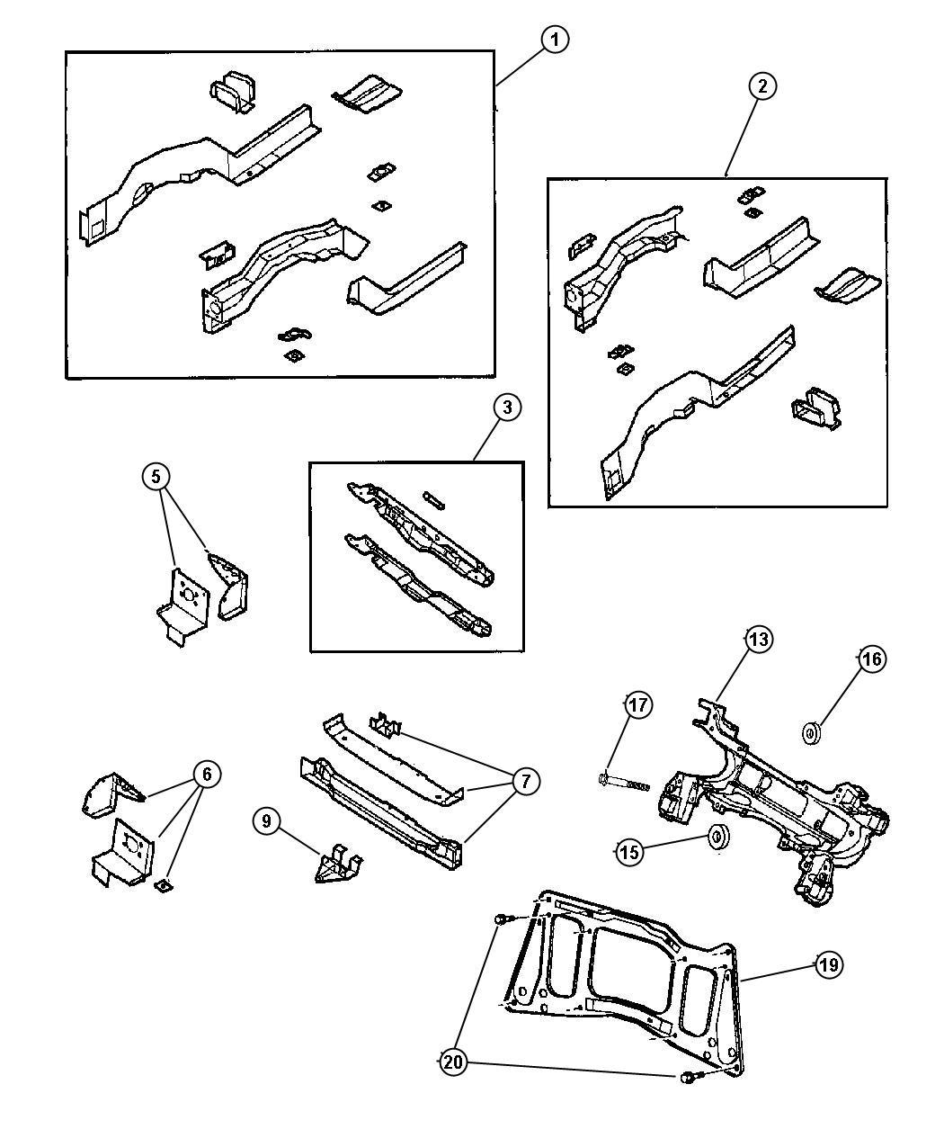Dodge Ram Nut Mounting Hex Flange Lock M14x2 Sprg