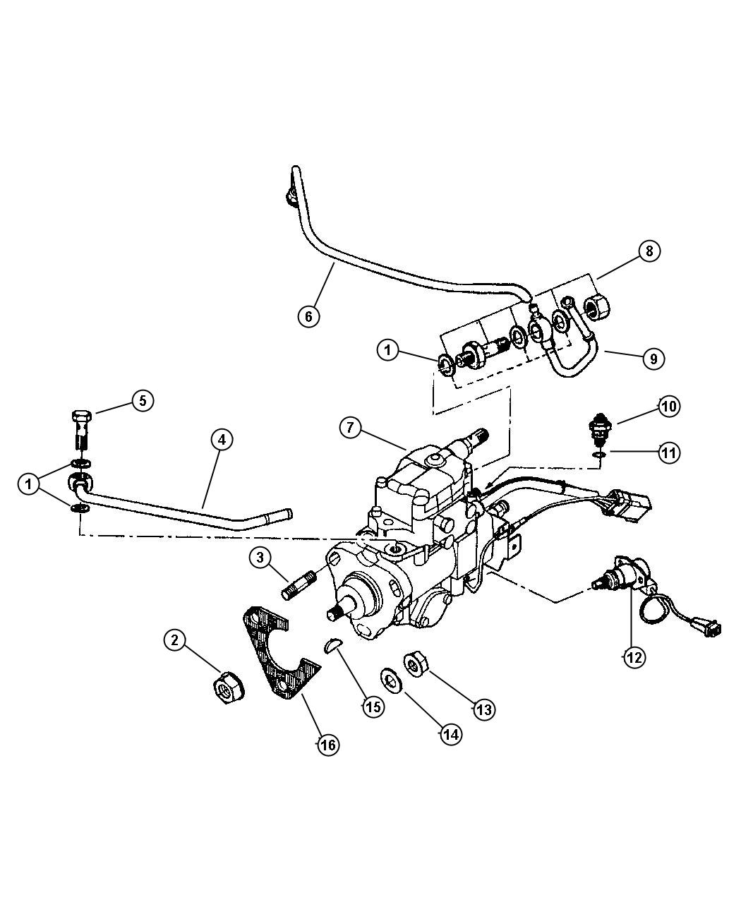 Dodge Nitro Bolt Banjo 2 8l I4 Turbosel Engine