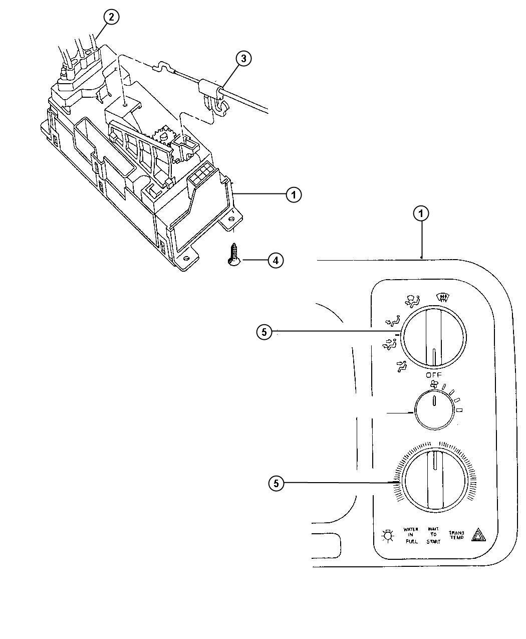 Chrysler Pacifica Cable Temperature Control Upfit