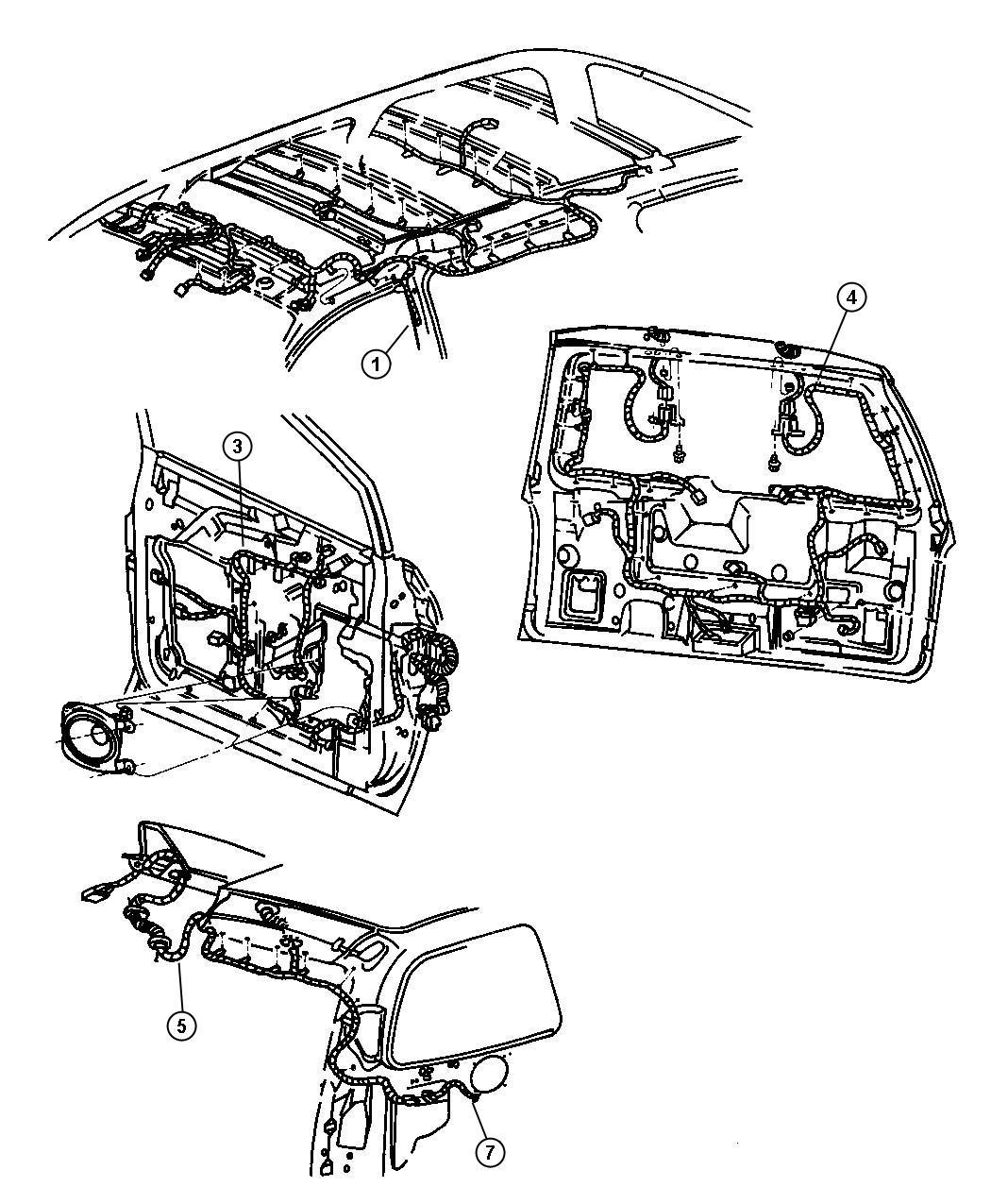 Chrysler Town Amp Country Wiring Power Seat Trim
