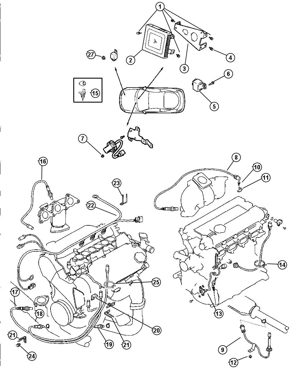 Dodge Dakota Wiring Alternator Relayssensorscontrol
