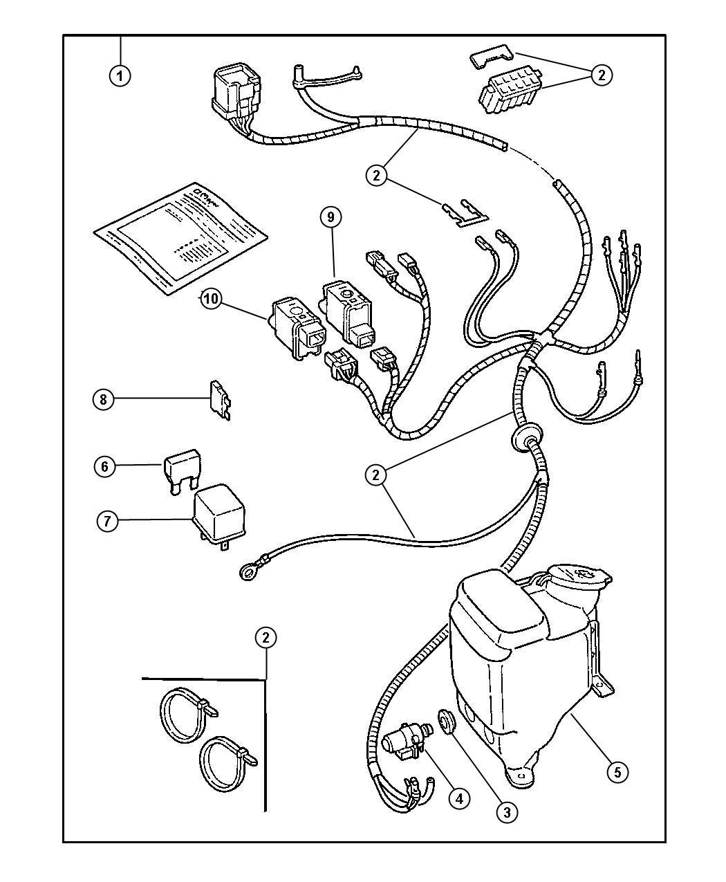 Jeep Wiring Package Enclosure