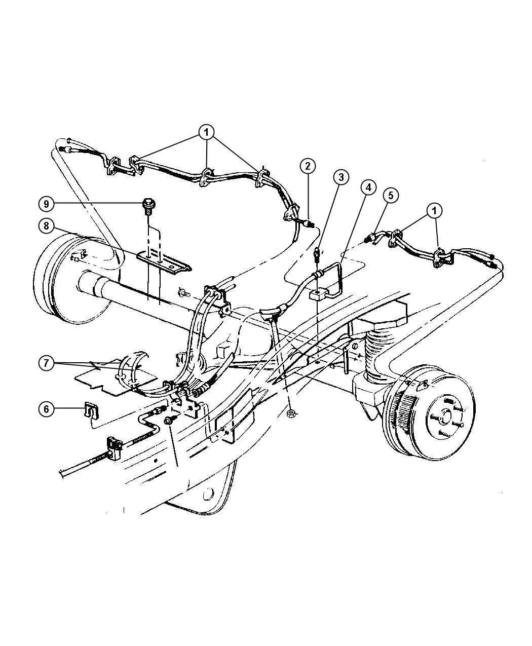 Wiring diagram for a 2001 dodge ram