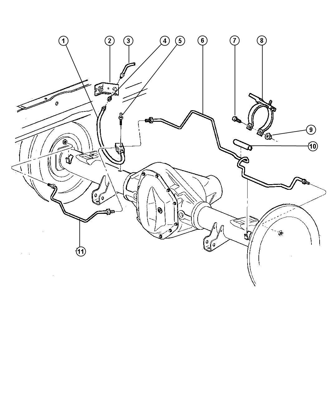 Front End Diagram Dodge Dakota 3 9l