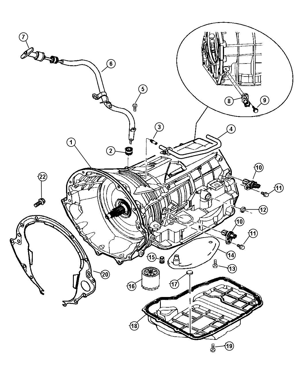 Dodge 46re Transmission Diagram