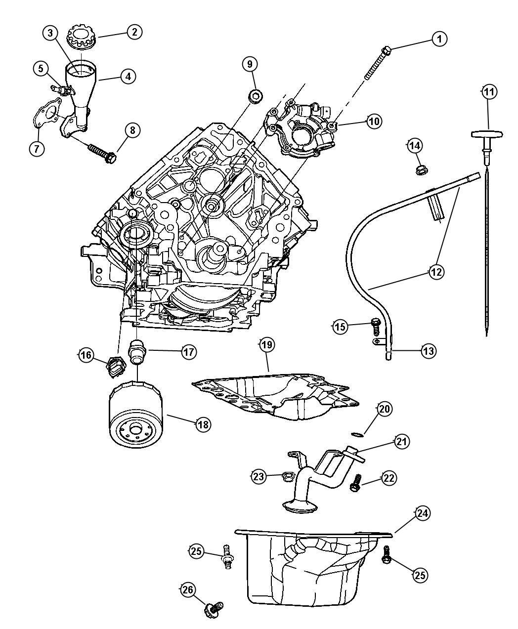Jeep Liberty Valve Crankcase Vent Evaevd Evaevc