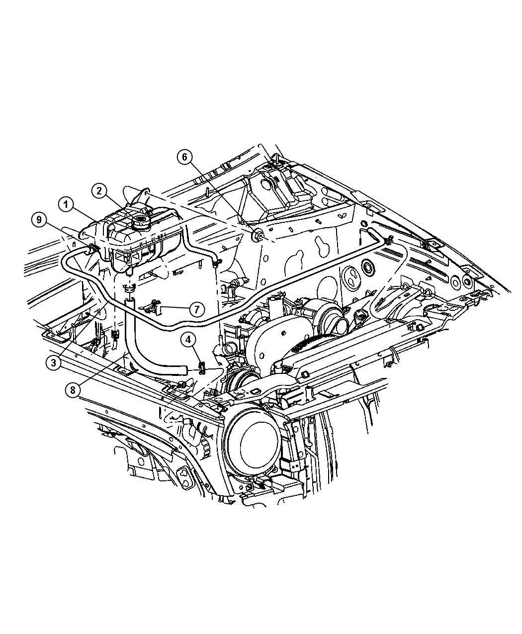 Coolant Degasser Tank 2 5lsel Engine