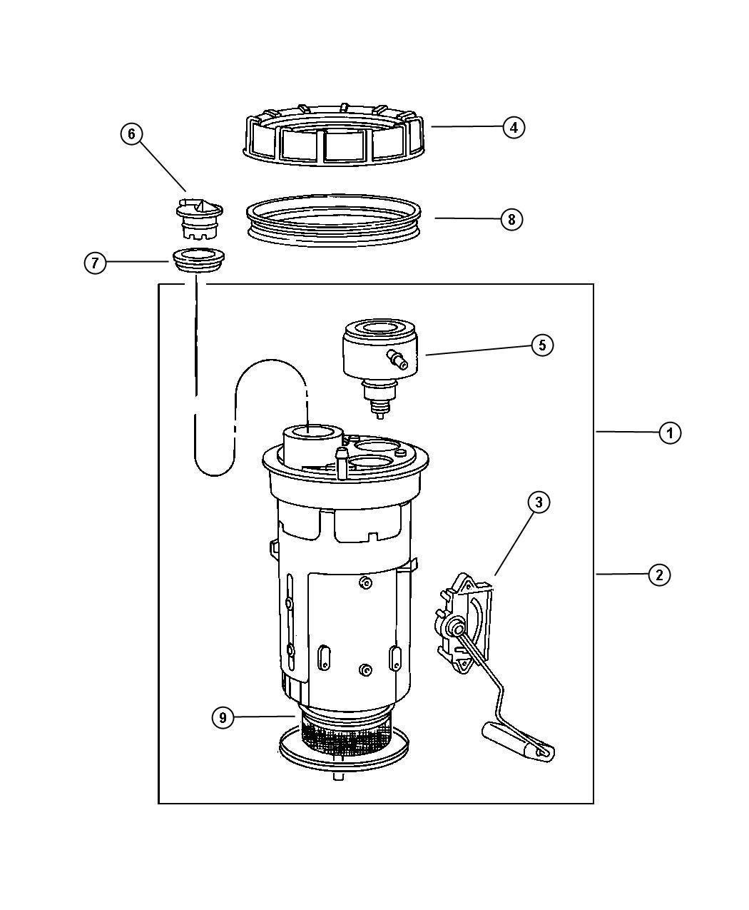 Fuel Sending Unit Diagram