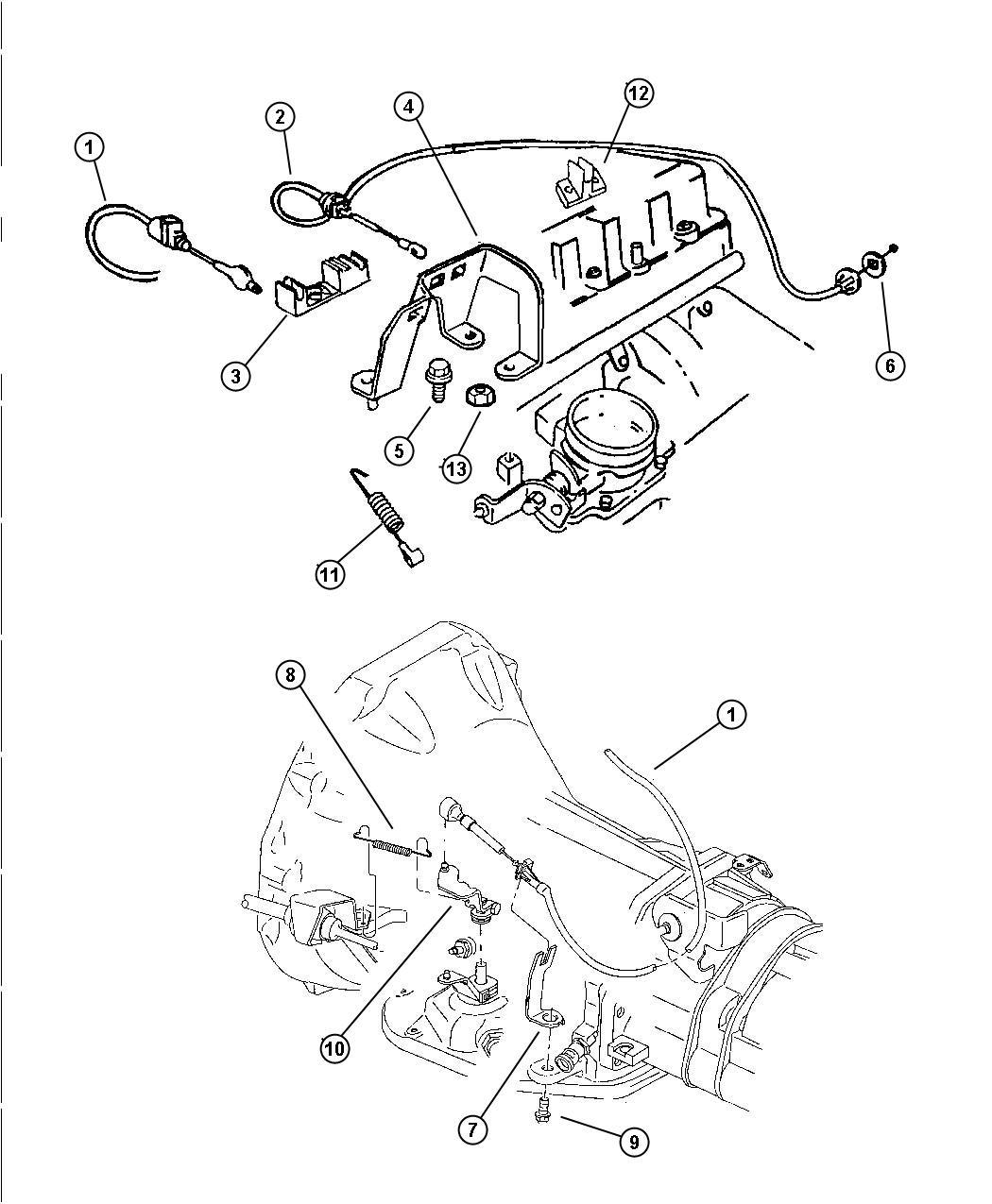 Dodge Challenger Cable Throttle Valve