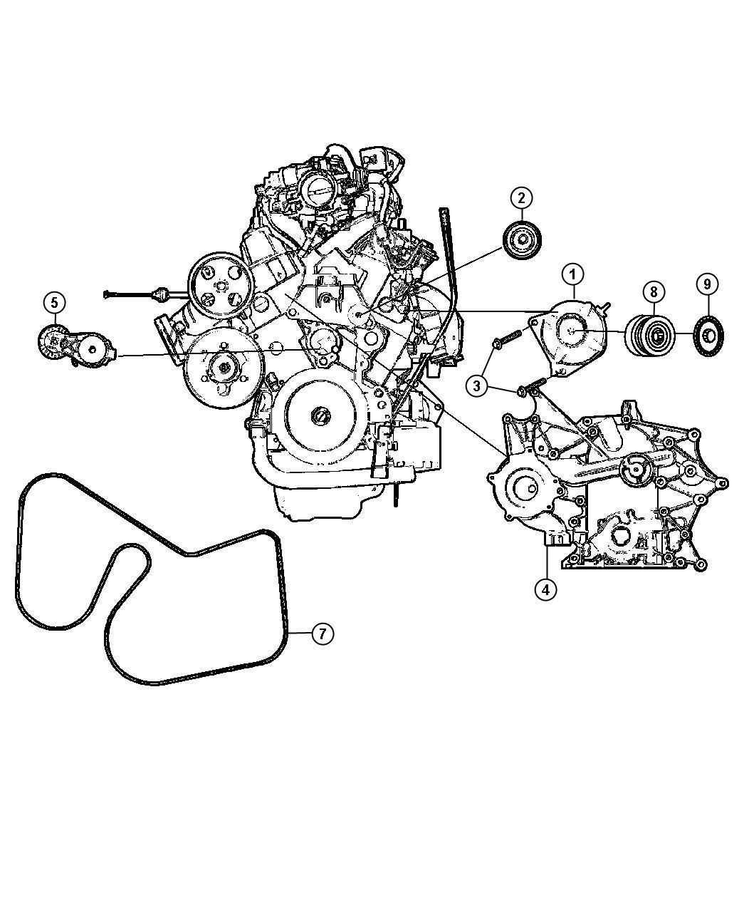 Dodge Caravan Generator Remanufactured Engine 160