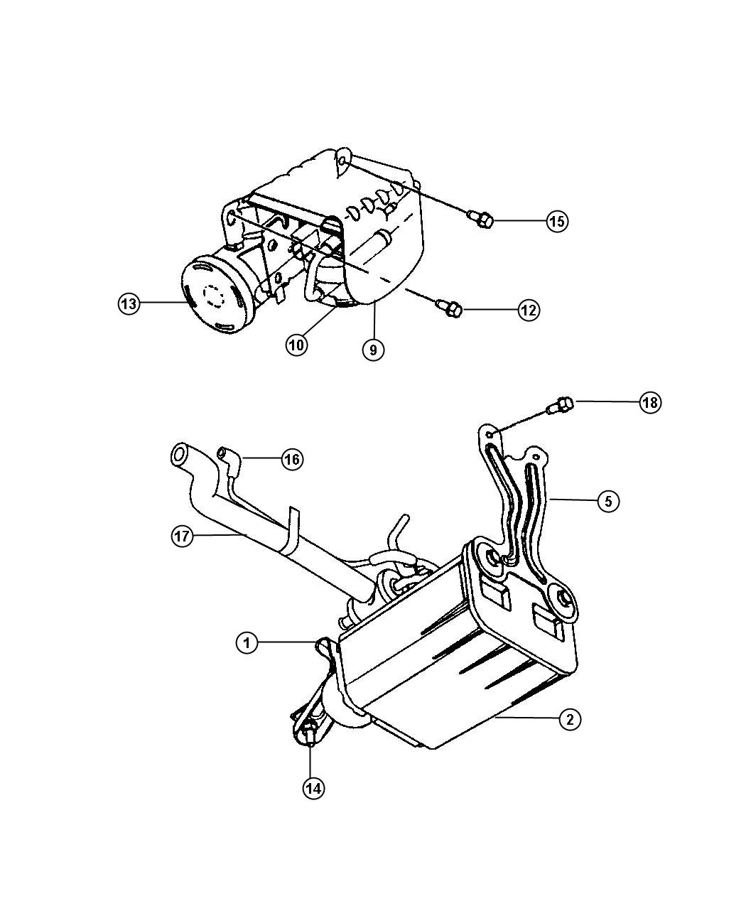 Service Manual How To Remove Vapor Canister Plymouth