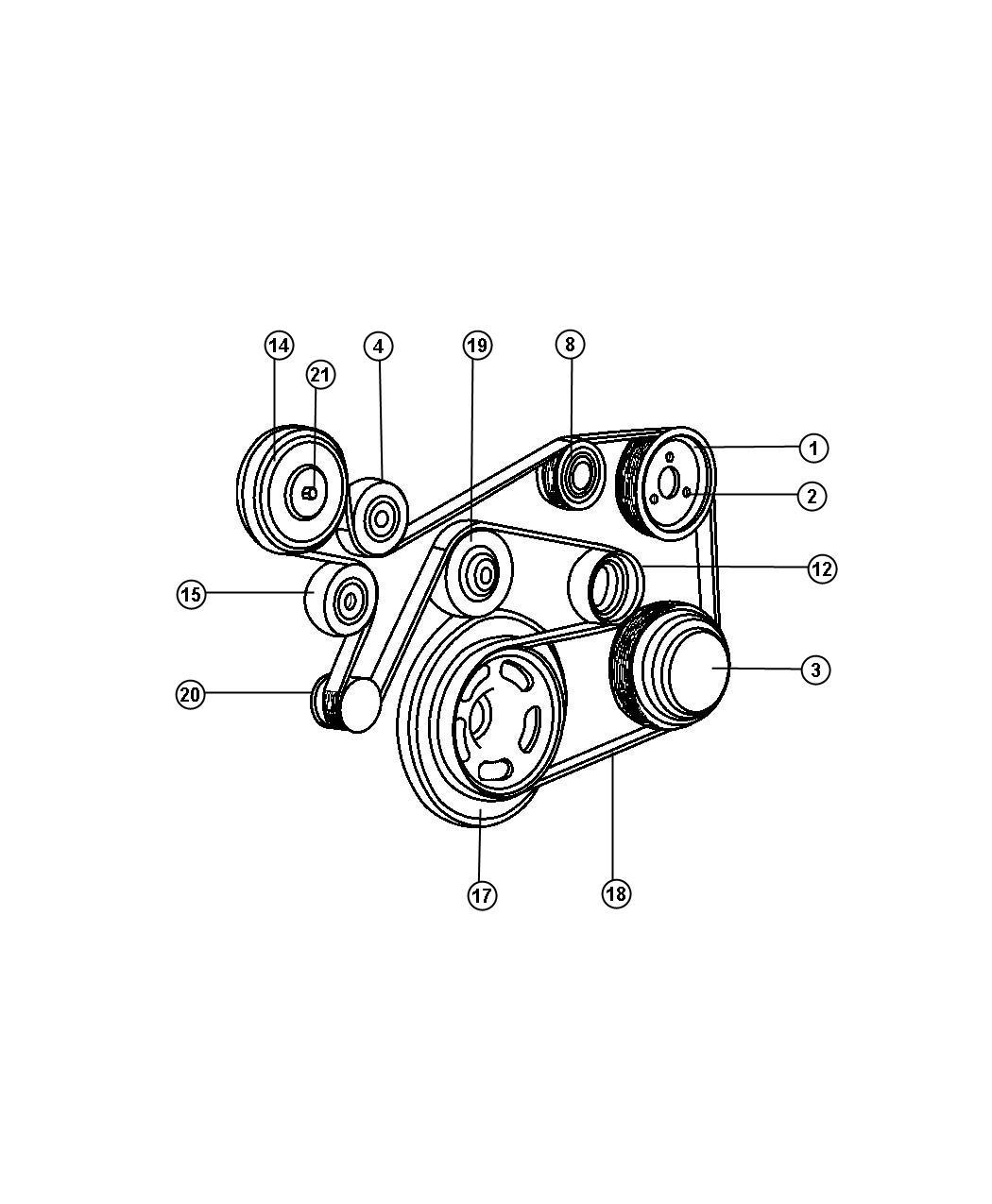 Jeep Liberty Heater Engine Viscous Heater