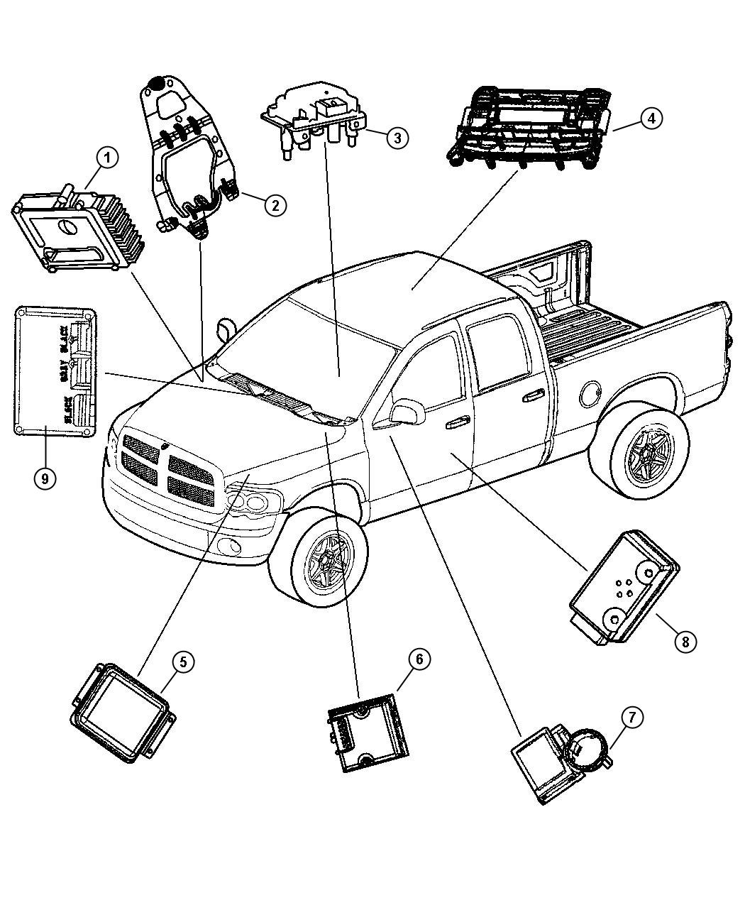 Dodge Ram Electrical Diagram