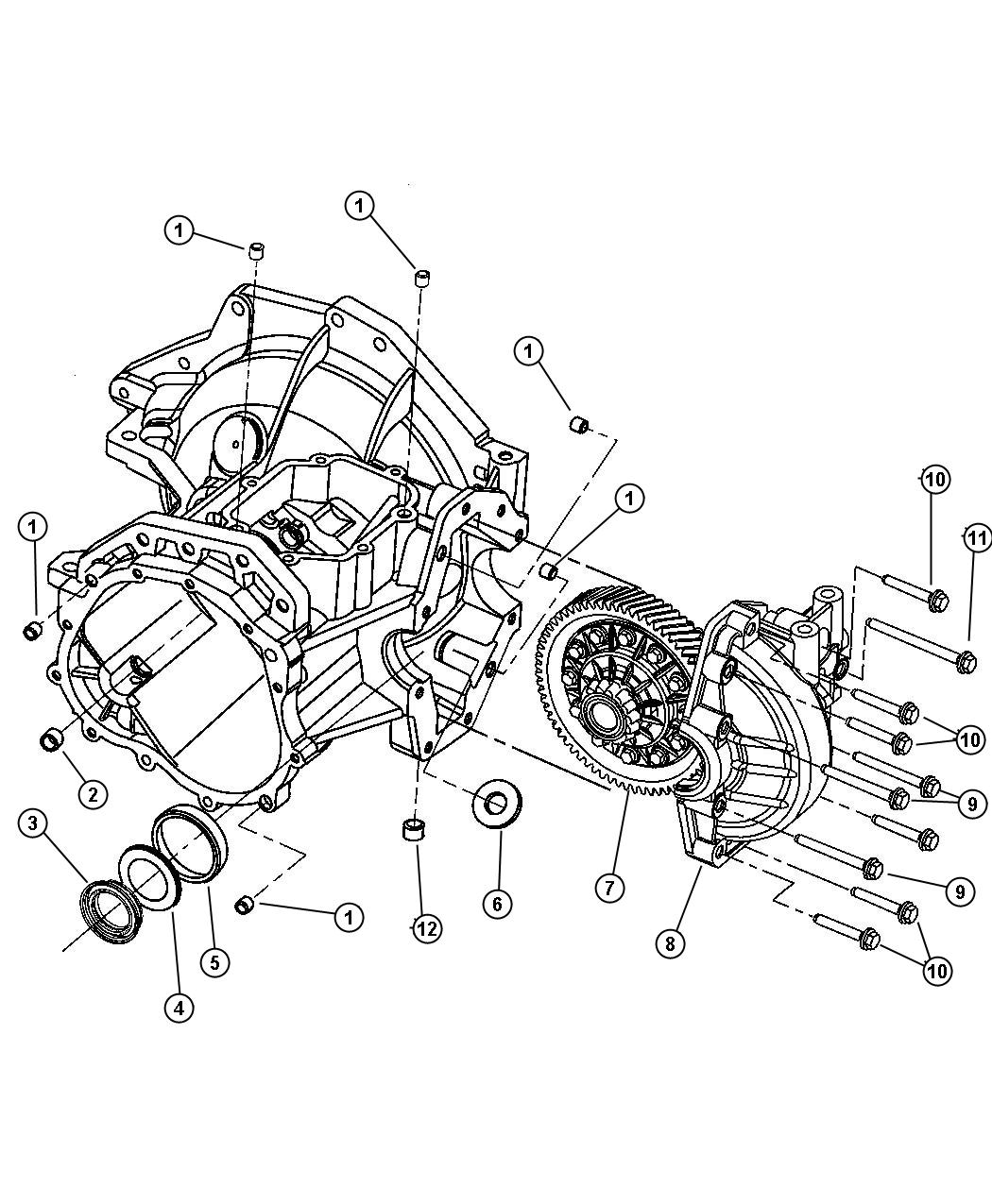 Dodge Neon Seal Axle Drive Shaft