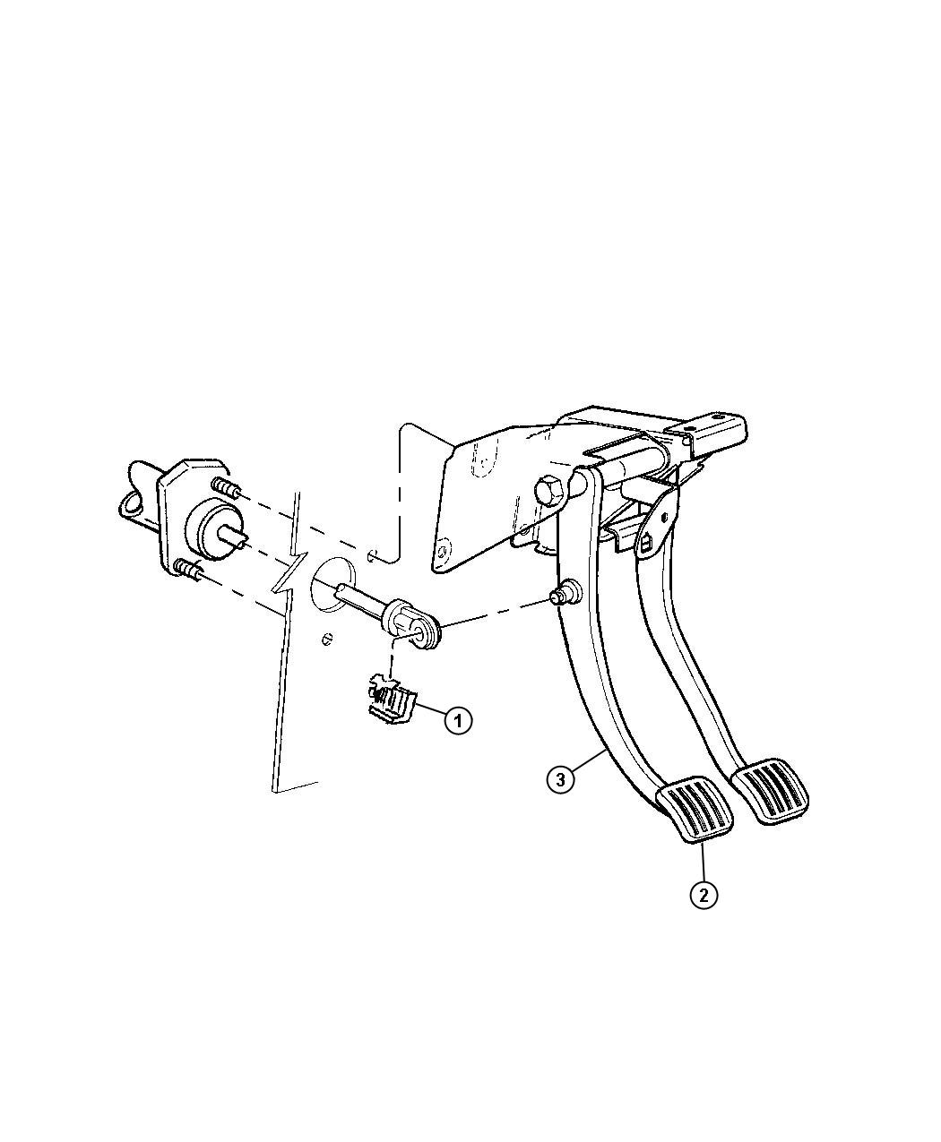 Jeep Pedal Clutch