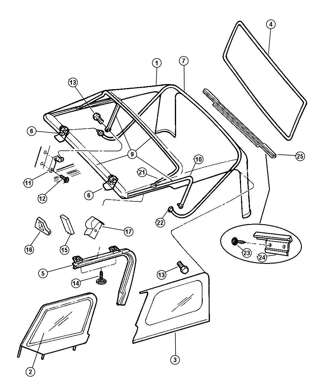 Tj jeep window seal diagram yj jeep hardtop wiring at ww w freeautoresponder