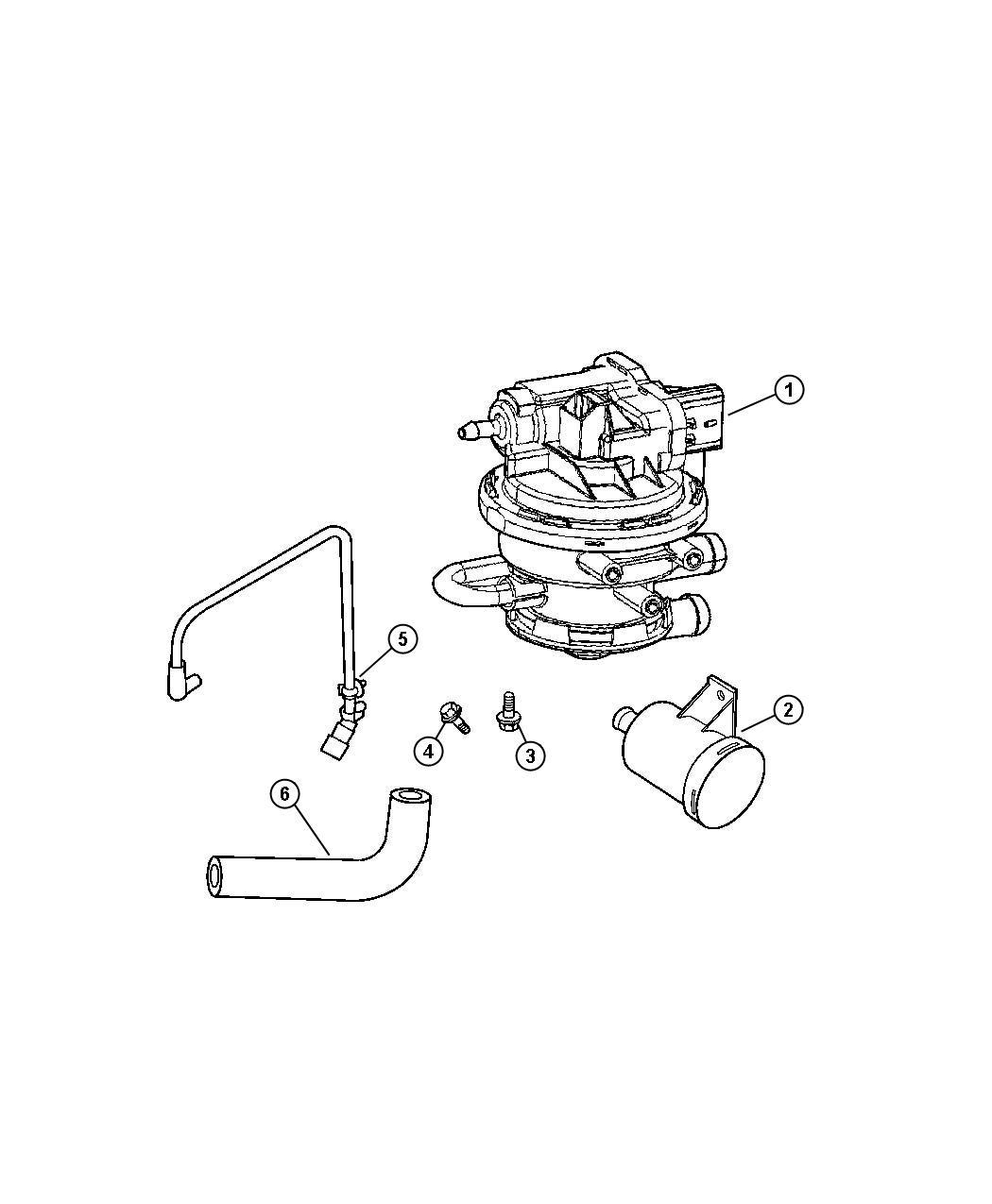 Jeep Wrangler Pump Leak Detection Evc