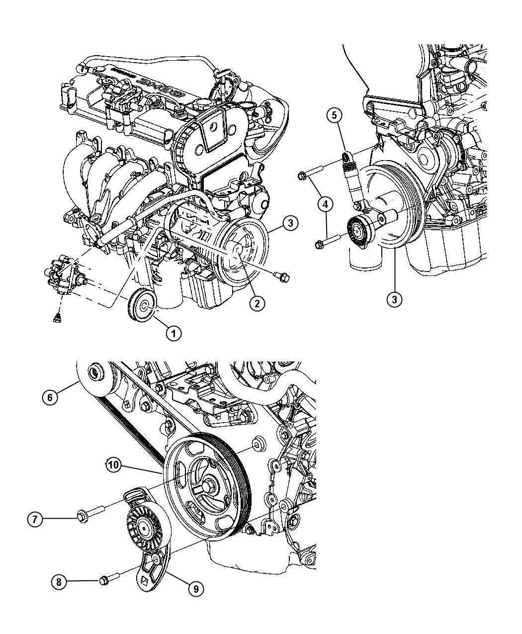 2004 Chrysler Sebring 2 7 Engine Diagram