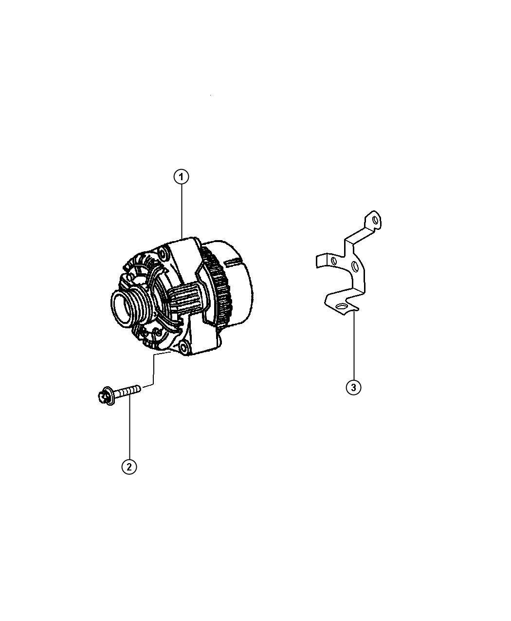 Chrysler Crossfire Generator Remanufactured Engine