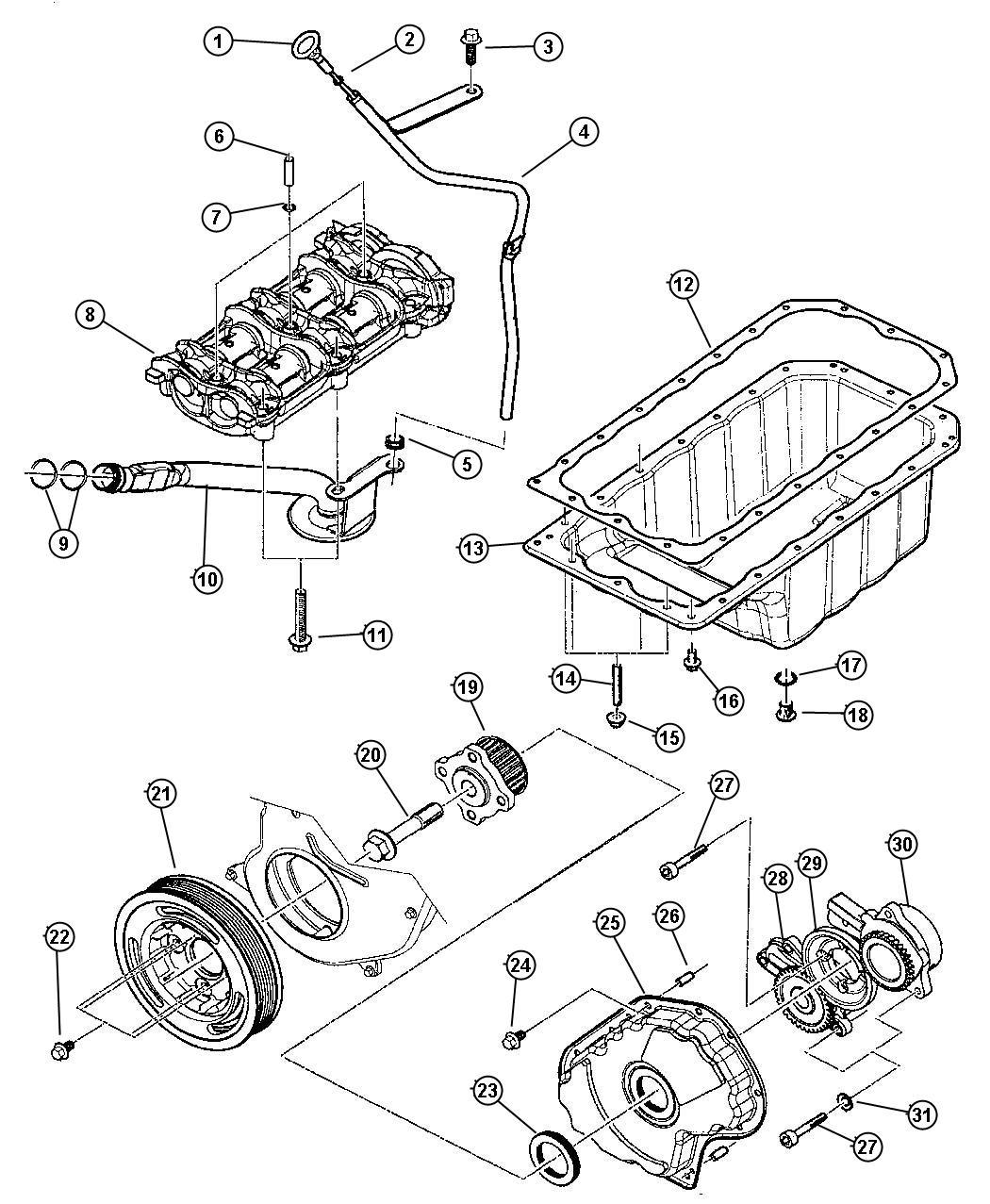 Jeep Cherokee Plug Oil Drain