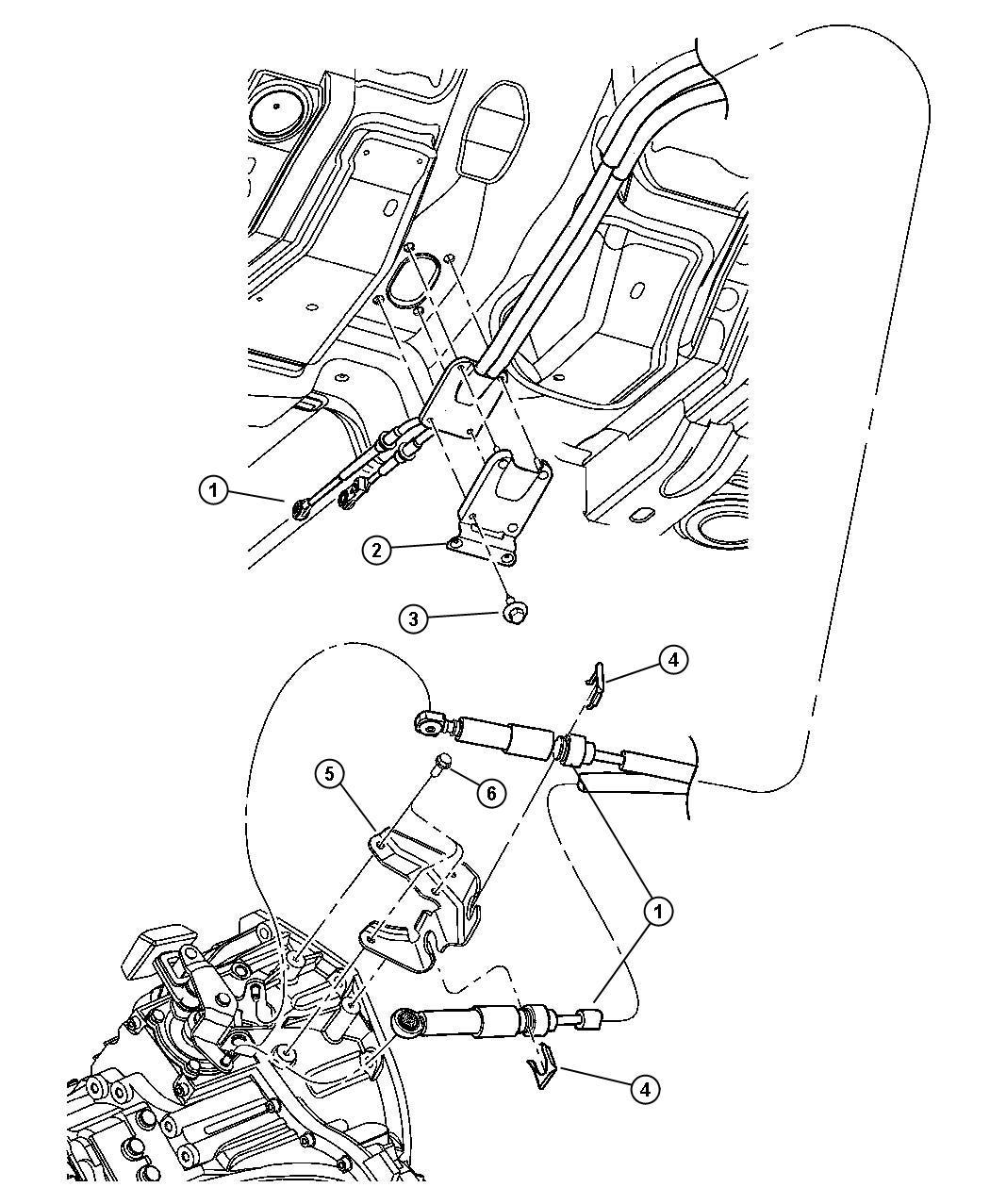 Chrysler Pt Cruiser Gear Shift Mechanism