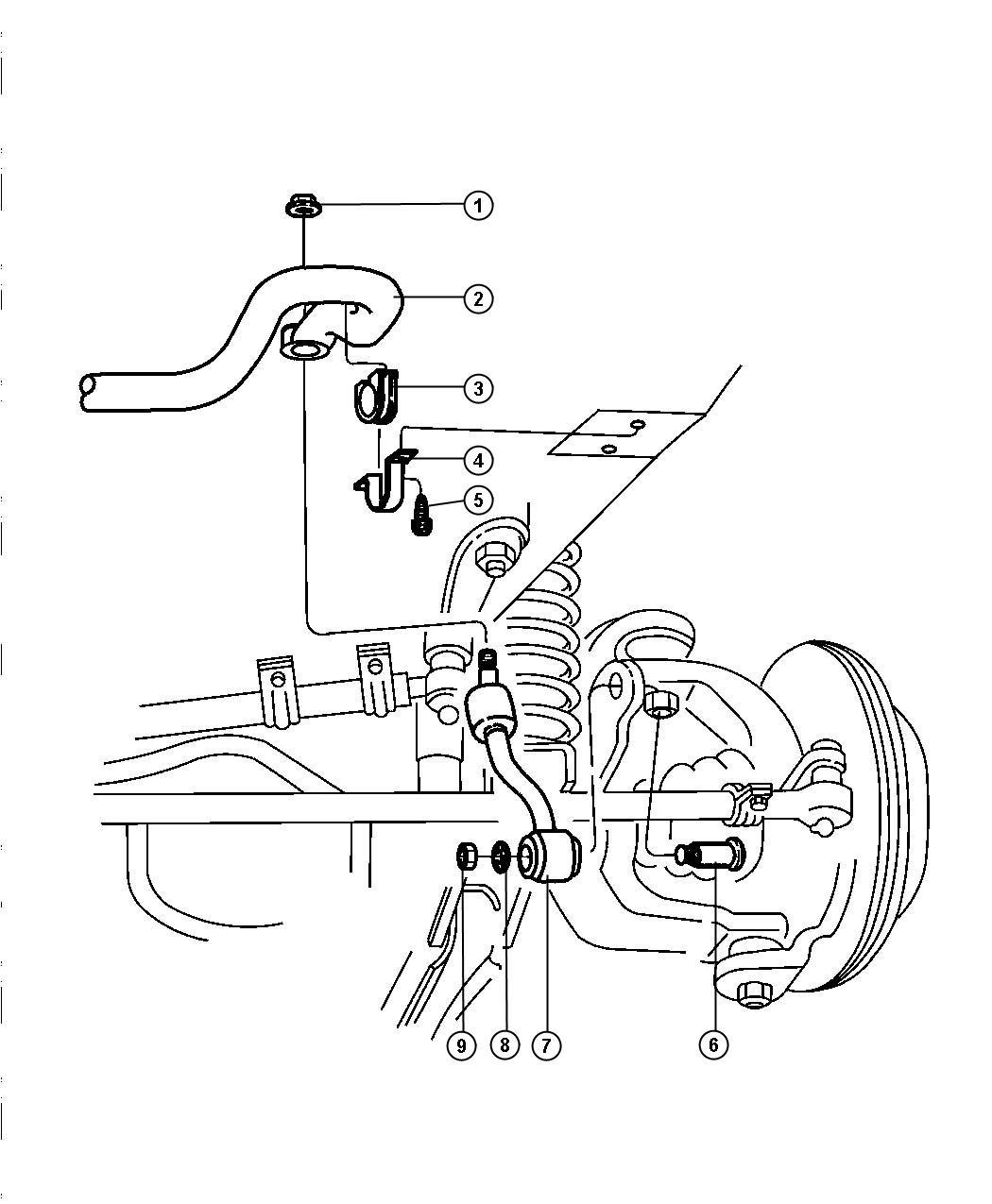 Jeep Cushion Sway Eliminator Mounting Stabilizer