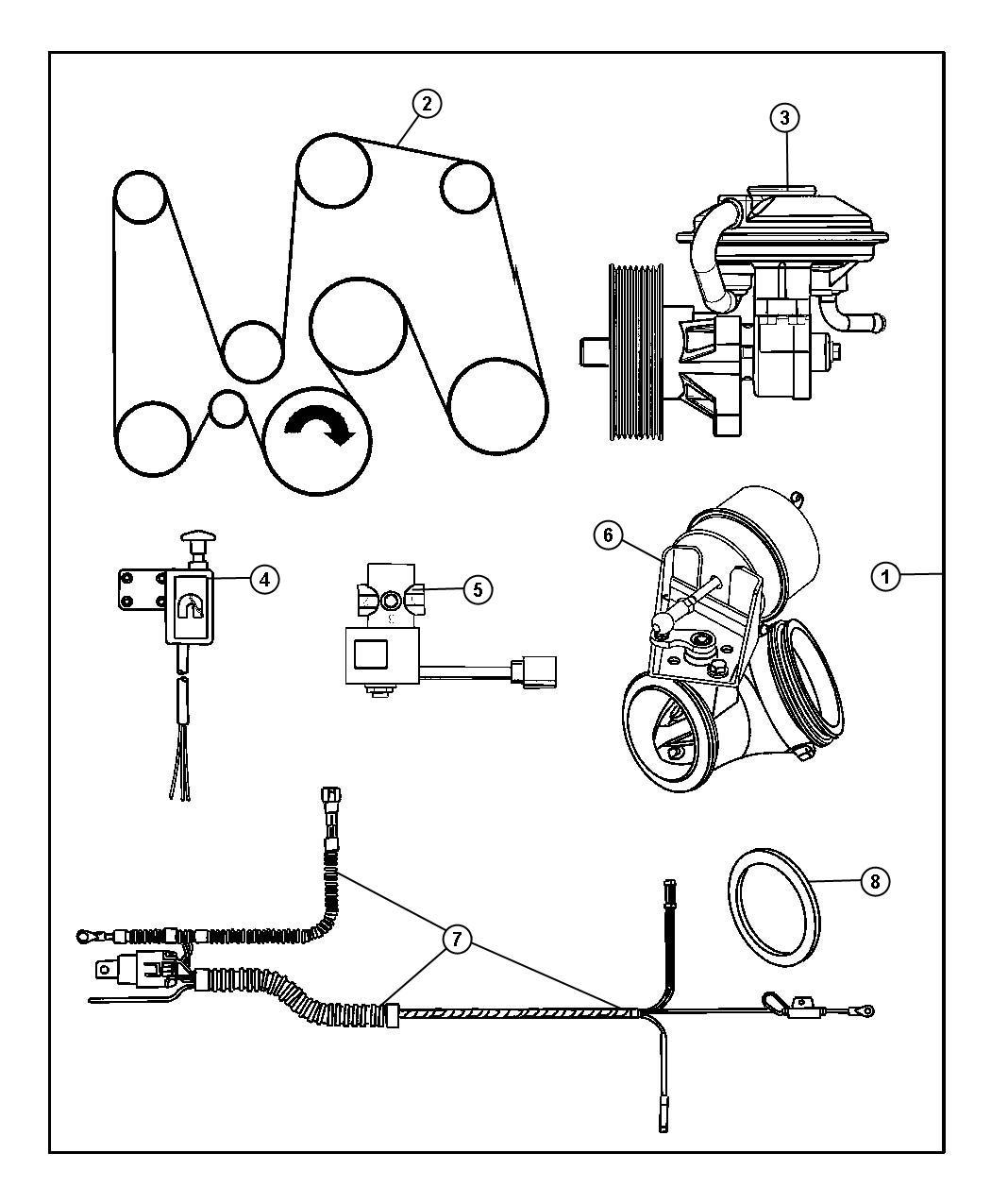 Dodge Ramsel Exhaust Brake Kit