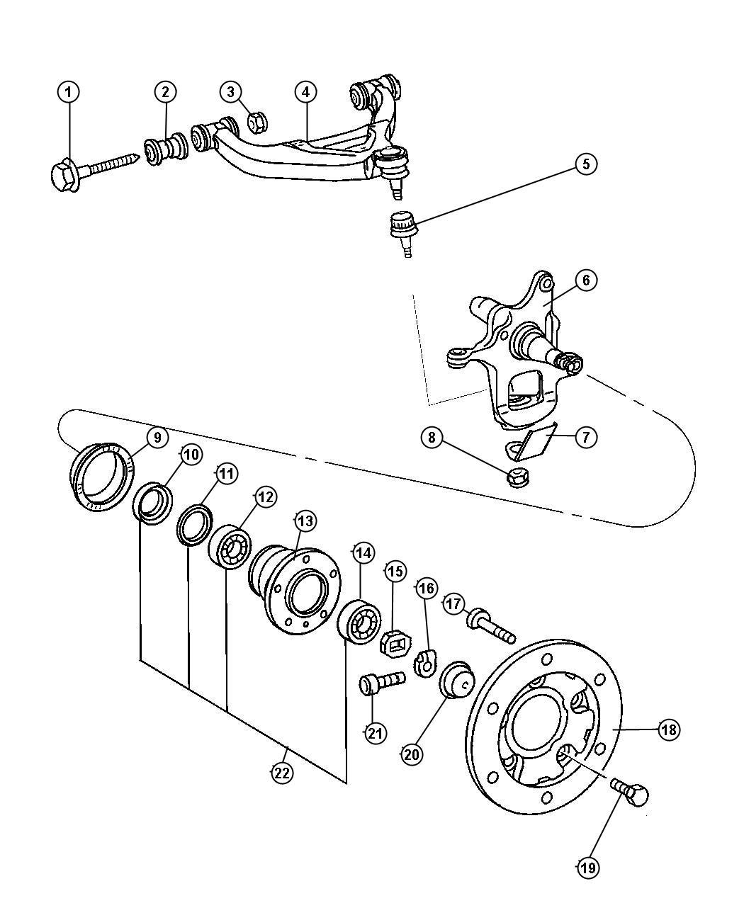 Dodge Ram Ring Tone Knuckles Hubs