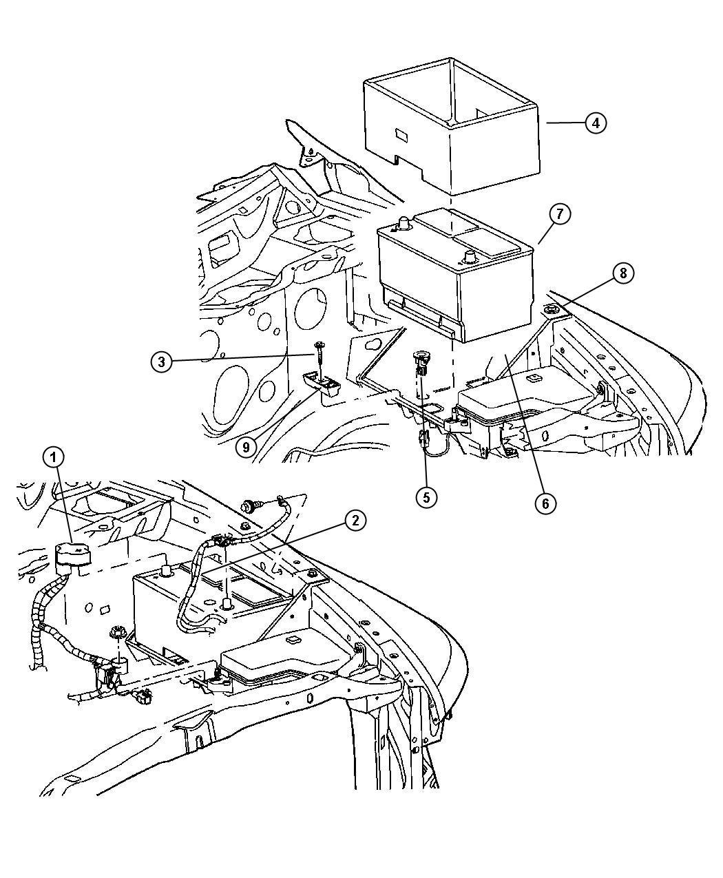 2008 Chrysler Pacifica Wiring Diagram