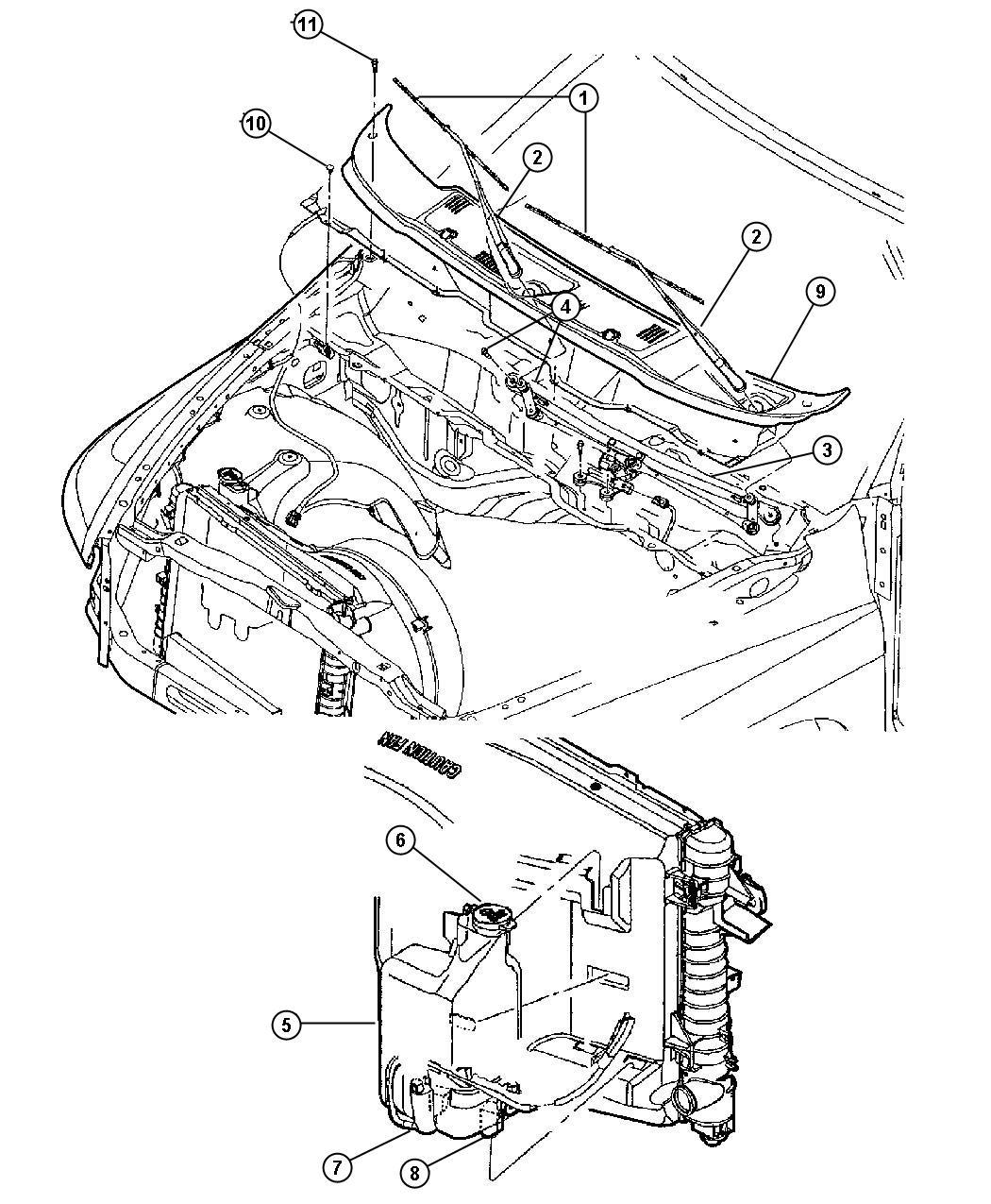 Dodge Ram Reservoir Washer Allsels Engines