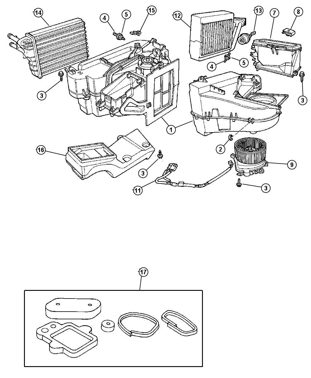 Jeep Grand Cherokee Actuator Vacuum Conditioing