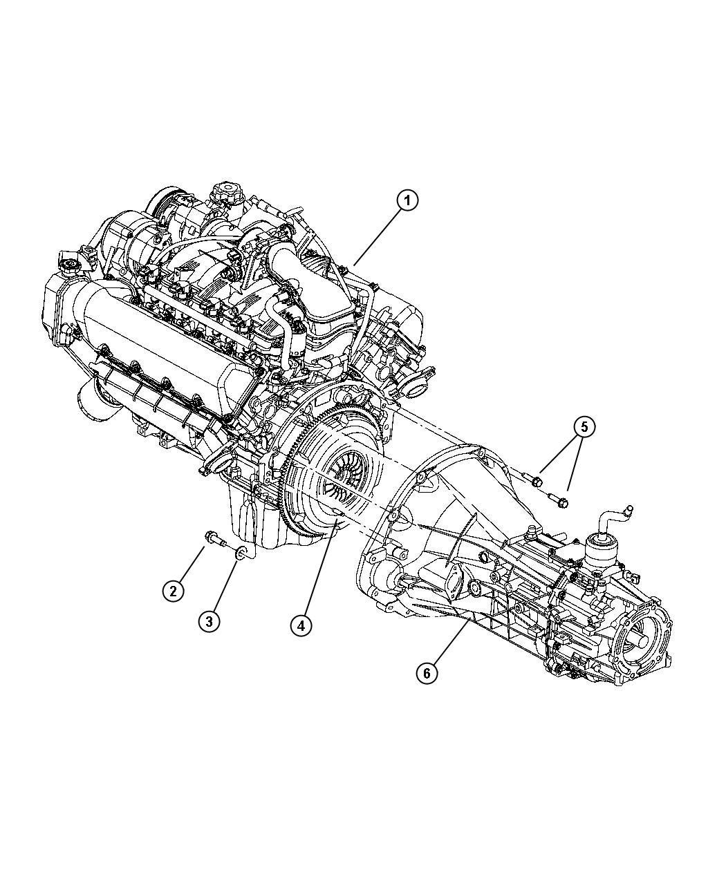 Dodge Dakota Transmission 6 Speed