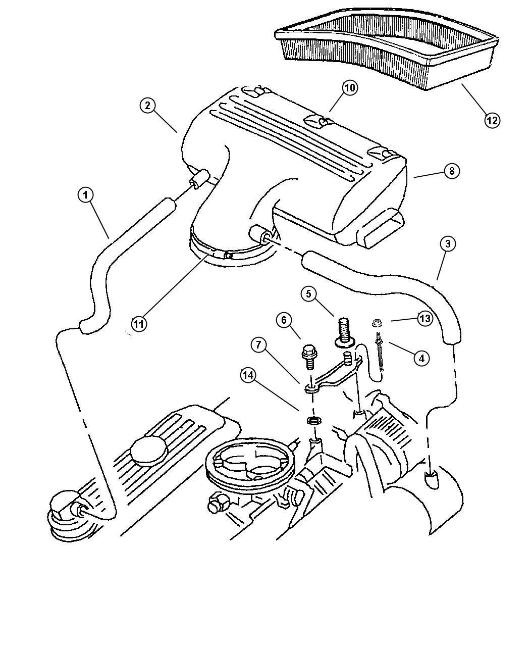 Dodge Ram Air Cleaner