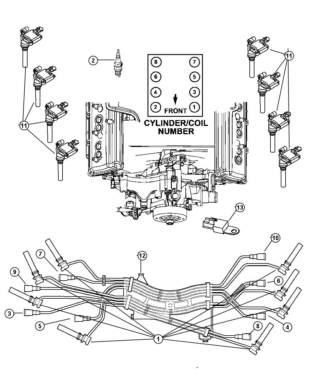 Fire Order Diagram 5 7 Hemi Engine