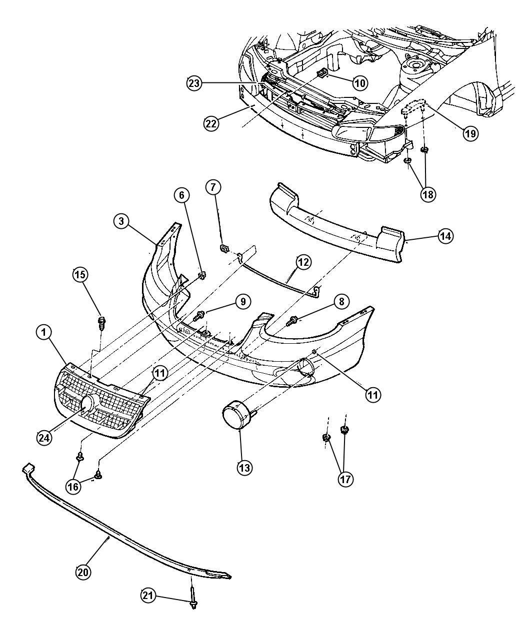 Chrysler Sebring Convertible Parts