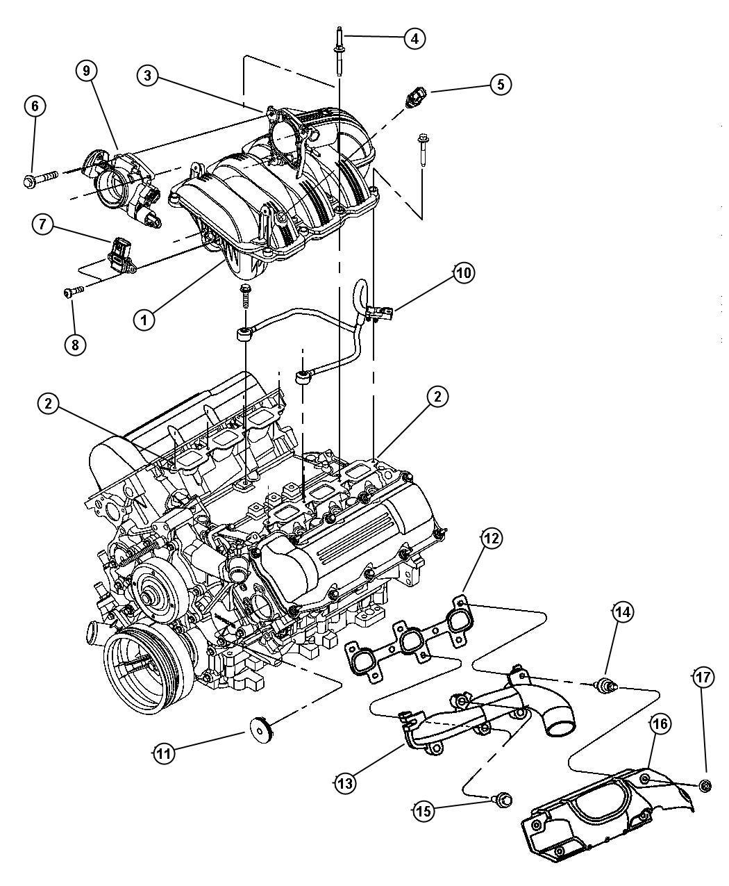 Jeep Commander Throttle Body Compoants