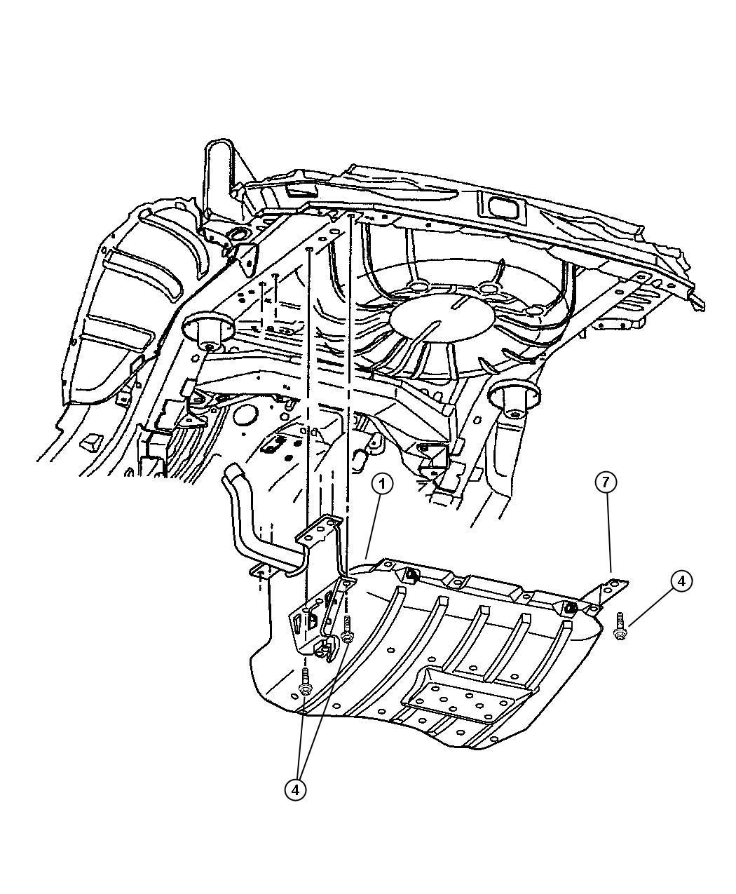 Dodge Ram Bolt Hex Head M12x1 75x45 Front Bumper
